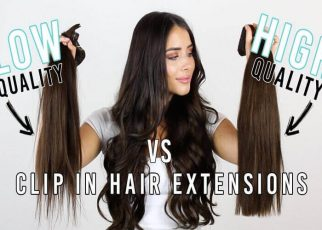 Keratin extensions versus clip-on extensions, which is better? hair guide 2020 - letsaskme