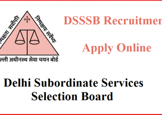 DSSSB Recruitment 2020 – Latest Updates - letsaskme