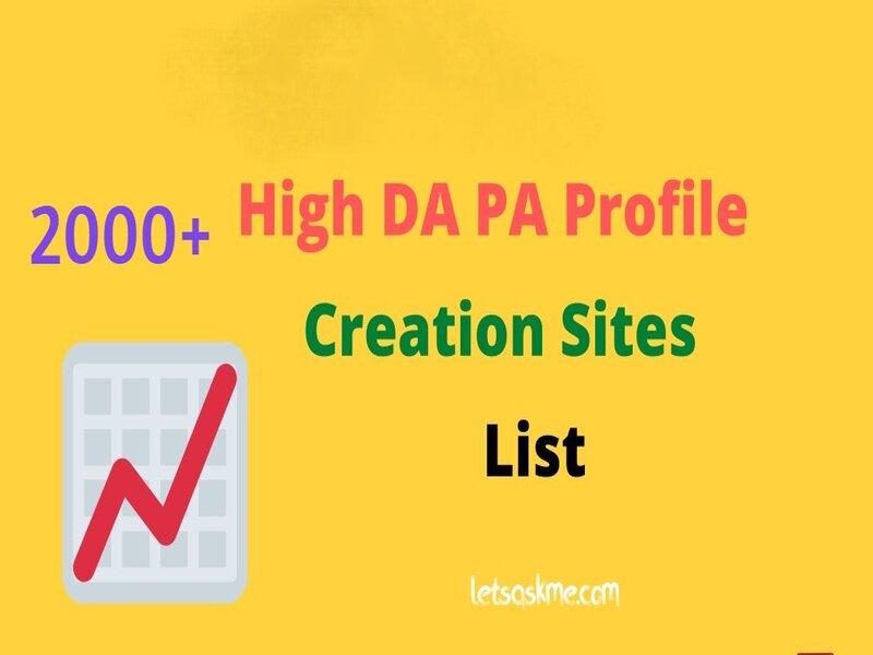 Free Business Profile Creation Websites For SEO letsaskme