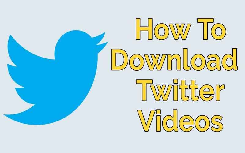 How to Download Twitter video - letsaskme