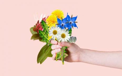 use flowers in some ways
