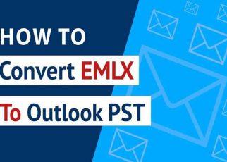 Convert EMLX Files Into PST File
