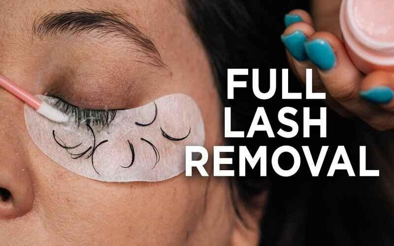 How To Remove Eyelash Extensions Using Coconut Oil