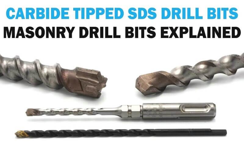 All About Carbide Masonry Concrete Drill Bits