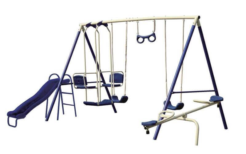 How To Assemble A Garden Swing Set