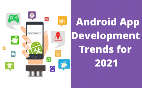 New Trends in Android Development - letsaskme