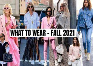 Hot Fashion Trends 2021 | women fashion