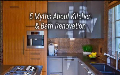 What Are The Various Myths Relating To Kitchen Renovation?