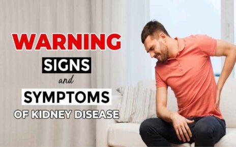 Warning Signs And Symptoms Of Kidney Disease